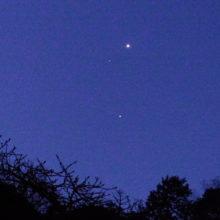 金星と土星