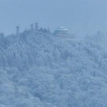 雪(比叡山頂)