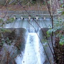 発電所取水口